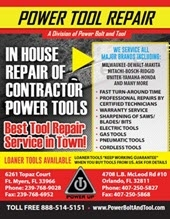 Power Bolt Repairs Flyer