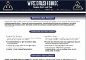 Wire Brush Guide Benefits