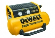 AIR COMPRESSOR 2 HP 4 GAL HAND CARRY TWIN TANK