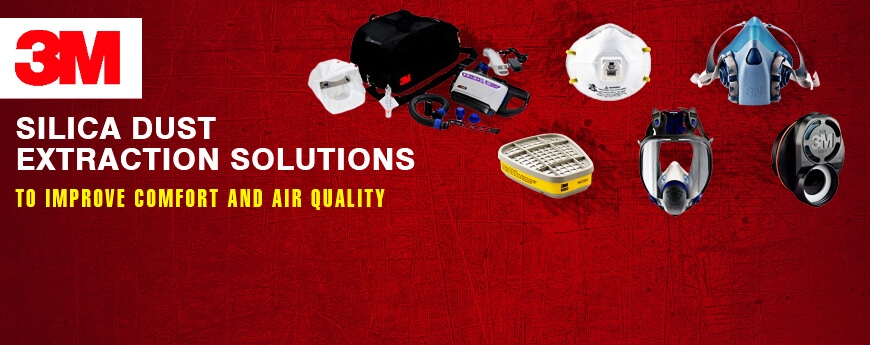 3M silica dust protection equipment